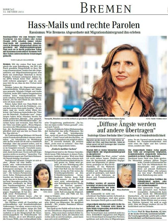 Wie Bremens Abgeordnete mit Migrationshintergrund ihn erleben - Ruken Aytas