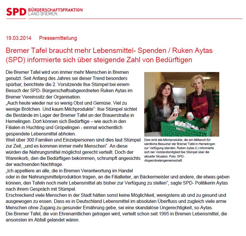 Ruek Aytas - SPD Bremen